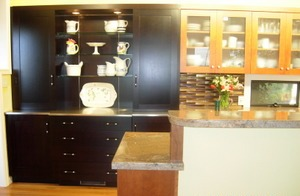 Clare Michael Interiors Galley Kitchen Remodel Greenbrae WoodMode Cabinets