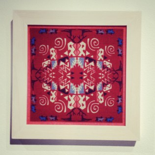 Lindsay & Yoshi Framed Textiles from £35