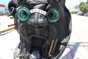 Street Art Totem Face