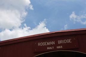Roseman Bridge Sign