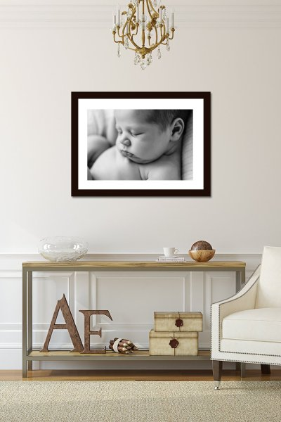 Newborn Photographer with Framing Service
