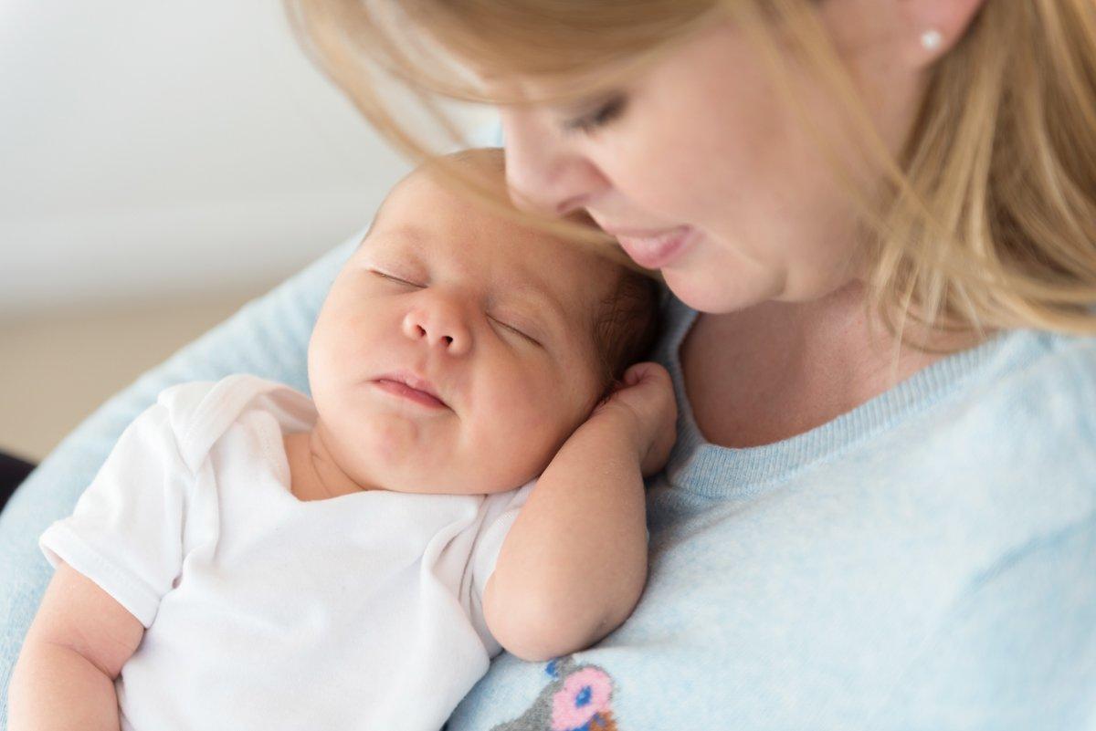 Walton, Surrey Baby Photography At Home