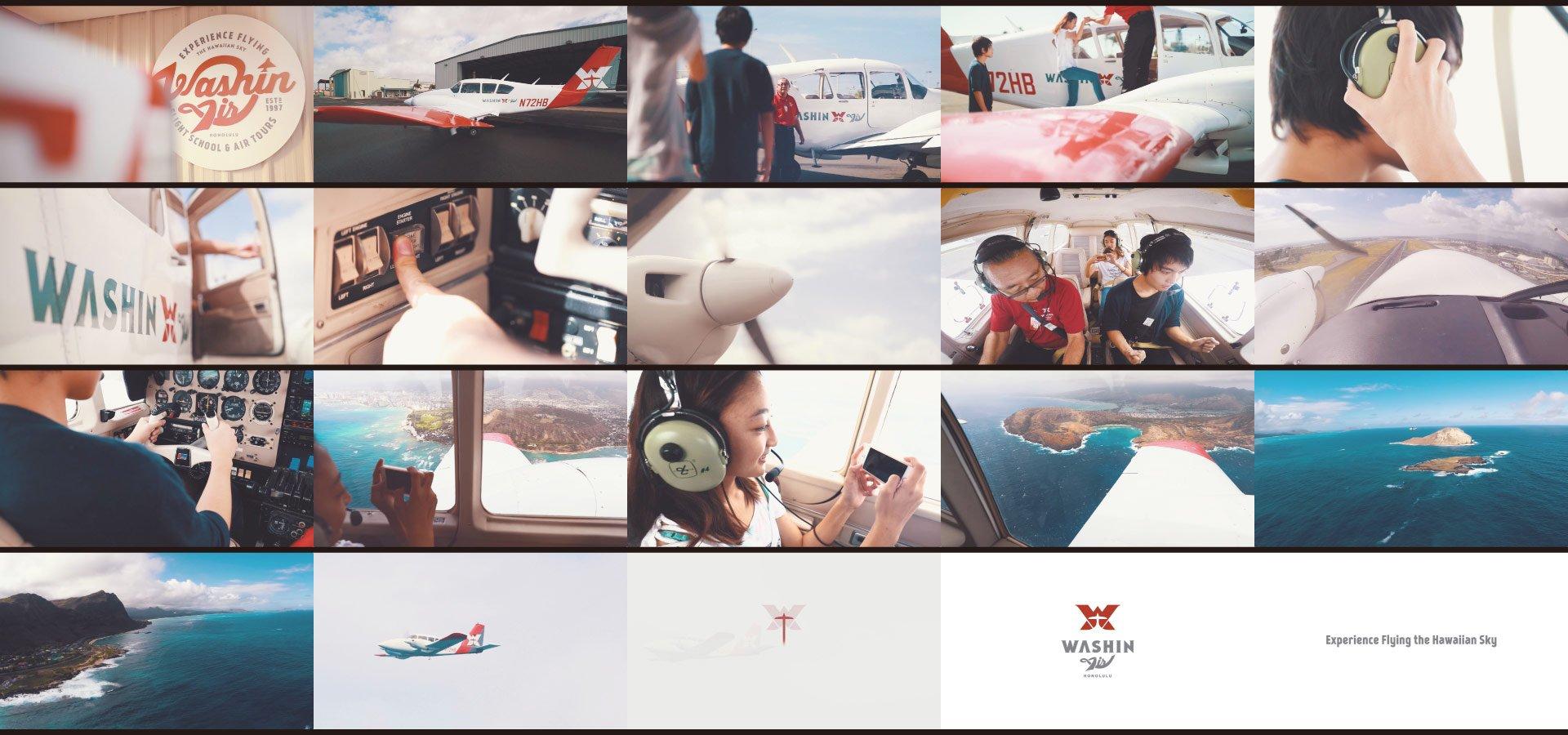 Washin Air Promotional Video Frames