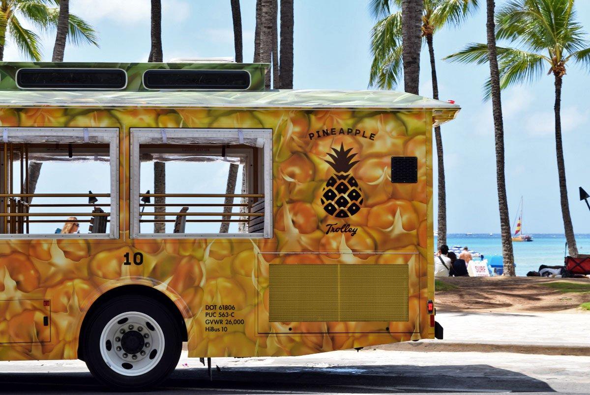 HiBus Pineapple Trolley