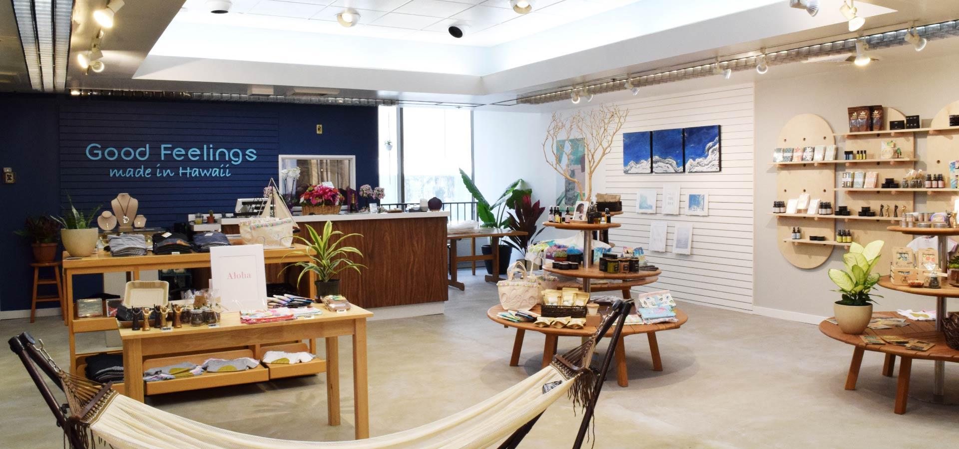 Good Feelings Store Interior