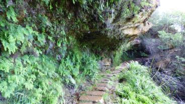 Path Under the Cliff