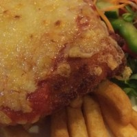 Chicken Parmigiana at the Country Club