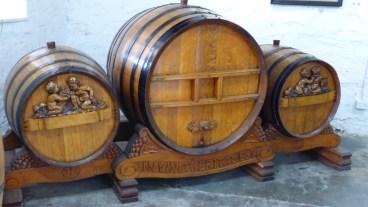 Beautiful old barrels