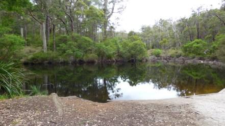 Glenoran Pool, where we enjoyed a picnic lunch