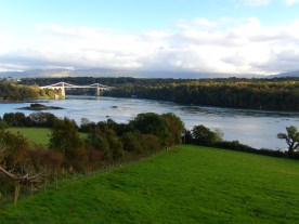 View from the Anglesey lay-by