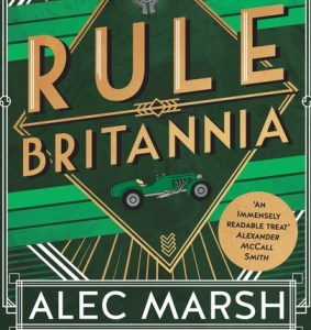 Rule Britannia by Alec Marsh (cover detail)