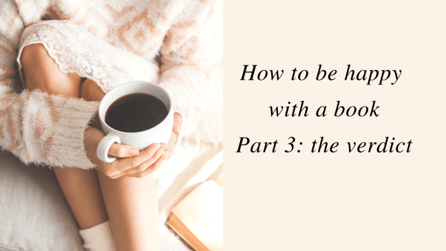 Title: how to be happy with a book part 3