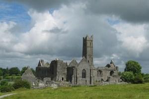 Quin Abbey, Mid Clare Way