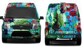 Van design front and back