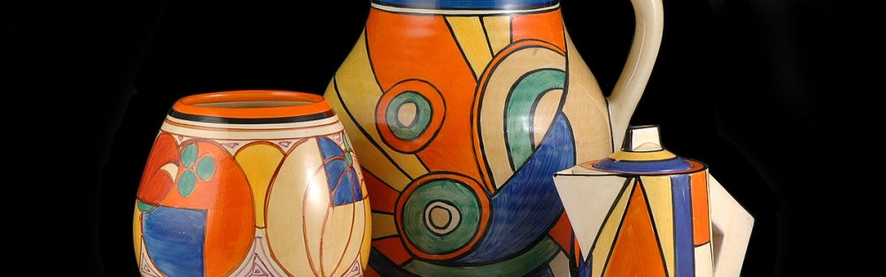 Clarice Cliff was an English ceramic artist active in Middleport, Stoke-on-Trent, England. U.K. from 1922 to 1963.