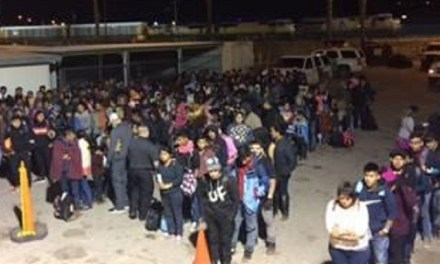 1800 Migrants Illegally Enter El Paso Sector in One Day