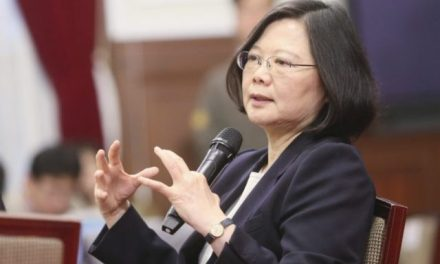 Taiwan's President Tsai: 'The Forward March of Democracy Is Not a Given'