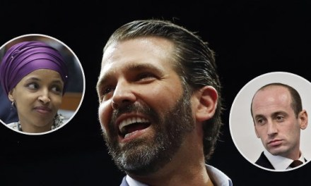 Exclusive – Donald Trump Jr.: Ilhan Omar's Attack on Stephen Miller Further Reveals Her Shameless Antisemitism