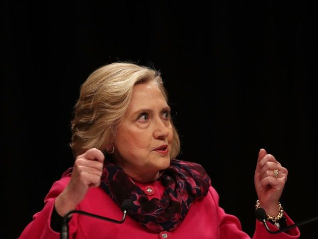 Hillary Clinton Claims 'Make America Great Again' Is a 'White Nationalist Slogan'