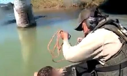 VIDEO: Teen Migrant Rescued from Drowning in Texas Border River