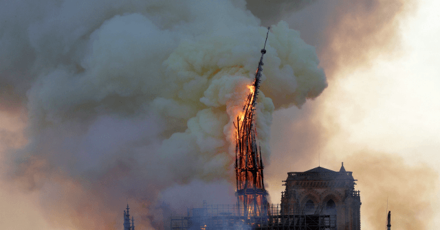 Donald Trump Reacts to 'Horrible' Fire at Notre Dame Cathedral
