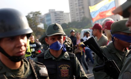 Live Updates: Firefights In Venezuelan Capital As Military Uprising Ensues
