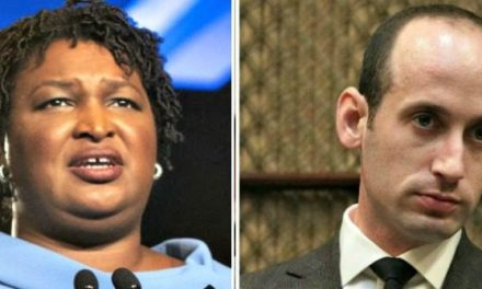 Stacey Abrams: Stephen Miller Has Shown 'Vestiges of White Nationalism'
