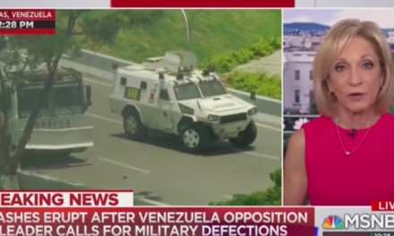 MSNBC accidentally stumbles on defense of 2nd Amendment over gov't violence in Venezuela