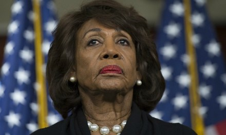Maxine Waters: 'I Call Out' the 'Patriotism' of Those Standing with Trump