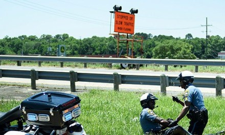 2 Officers Involved in Crash Along Trump's Motorcade Route in Louisiana