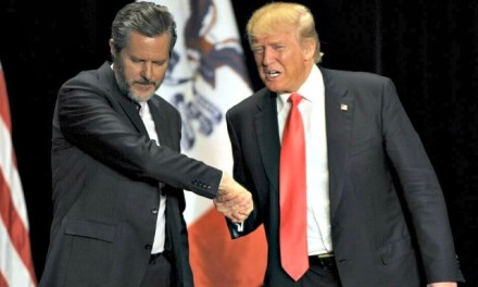 Jerry Falwell Jr.: Evangelicals Will Back Trump More in 2020