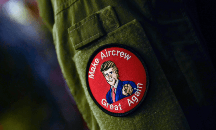 Troops with 'Make Aircrew Great Again' Patch Triggers Outrage on Left