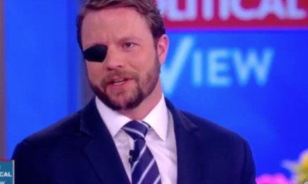 Dan Crenshaw issues warning to President Donald Trump about Russia during appearance on 'The View'