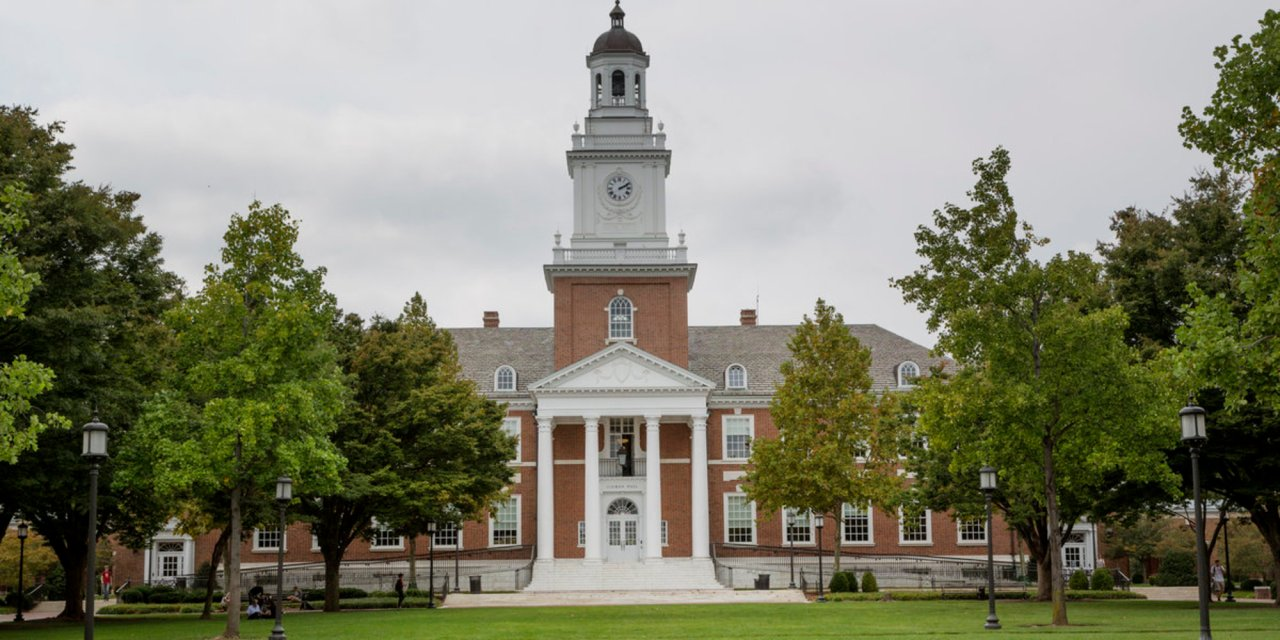 Protesters at Johns Hopkins shut down university's administrative building in bid to get school to stop cooperating with ICE