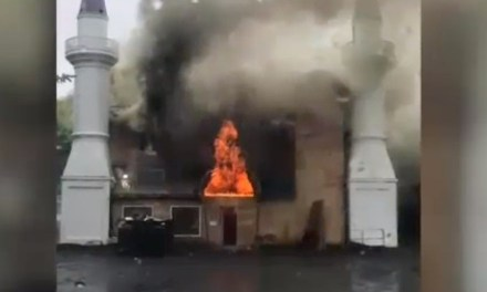 Connecticut mosque was set on fire intentionally, officials say