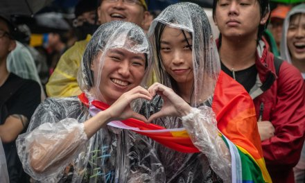 Taiwan becomes the first Asian country to legalize gay marriage
