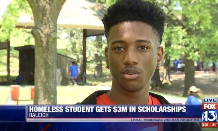 A homeless student became the school valedictorian, and earned $3 million in scholarships