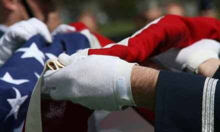 Ceremony honoring fallen military disrupted by students protesting cost of college