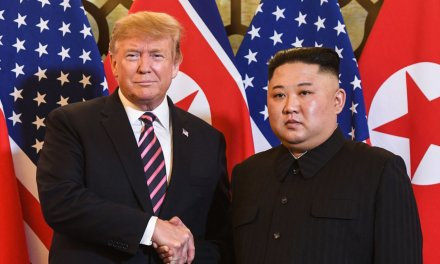 North Korea launches 'projectiles', Trump Tweets Kim 'knows that I am with him'
