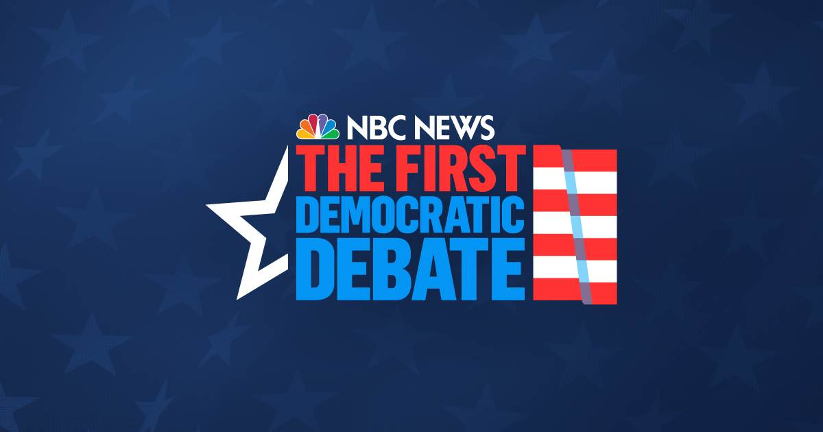 First Democratic debate: Live coverage, fact checks and analysis
