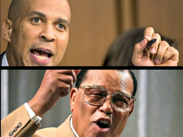Booker Declines to Say He Would Rule Out Meeting with Louis Farrakhan | Breitbart