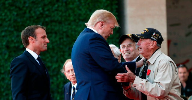 D-Day 75: Veteran to Donald Trump — 'You're Our President, Too'