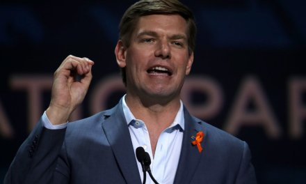 WATCH: Eric Swalwell calls 2020 Democrats 'the Avengers' who will save the country