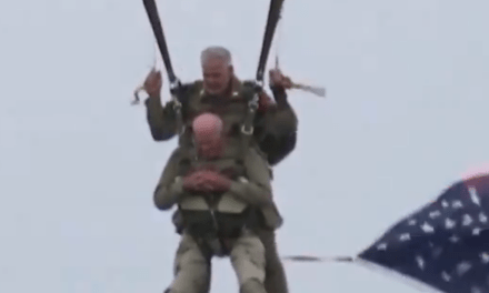 Watch: 97-year-old WWII paratrooper commemorates D-Day with 75th anniversary jump