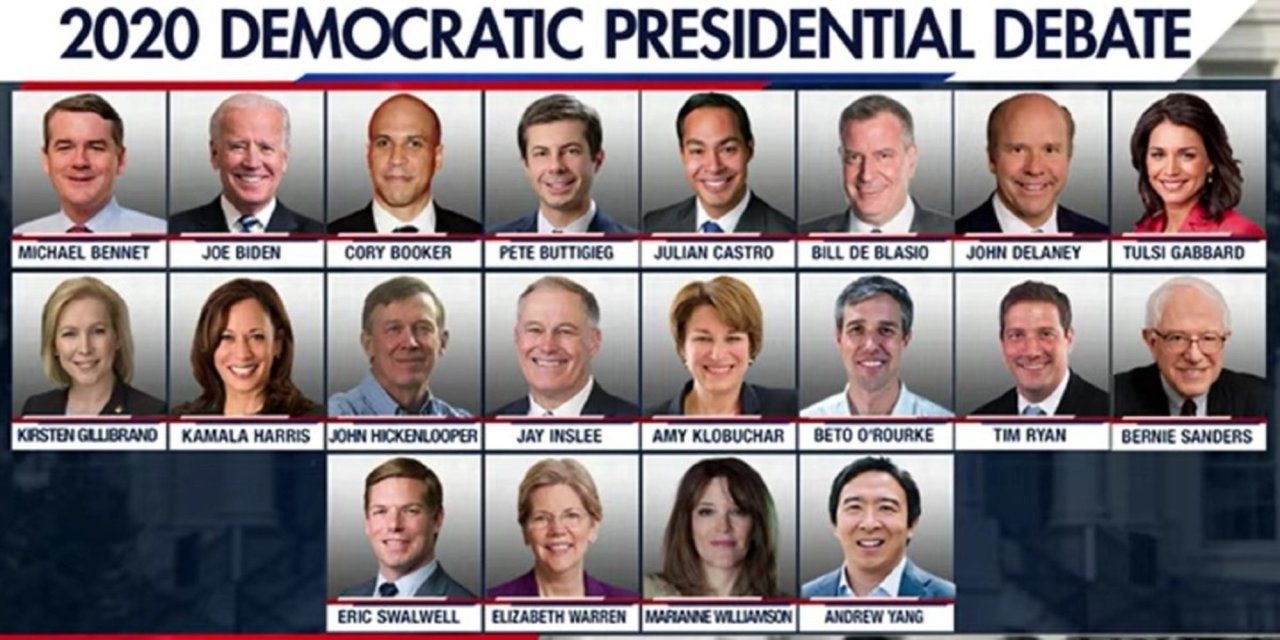 DNC announces who's in — and who's out — for first presidential primary debate