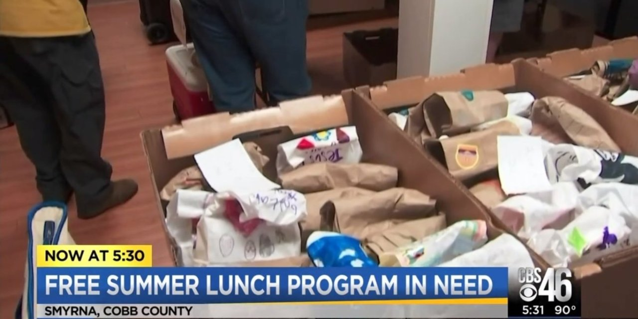 Georgia-based charity that gives thousands of free meals to kids is on the brink due to government bureaucracy