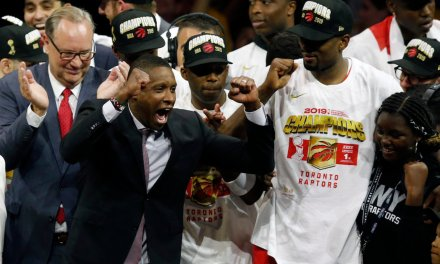 Toronto Raptors president accused of punching sheriff's deputy right after his team won the NBA title