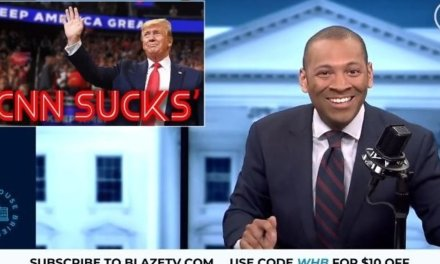 SAFE SPACE: CNN cuts coverage of Trump's rally on Tuesday when the crowd starts chanting 'CNN sucks'