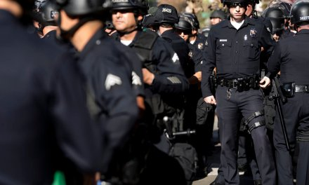 LAPD cops are so angry over filthy conditions at downtown station, some are planning to revolt