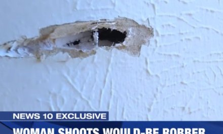 Intruder breaks into Texas female army vet's home. She gives him the business: 'I loaded my handgun … and waited'